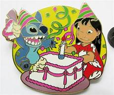 disney pin collection set 2 lilo stitch birthday