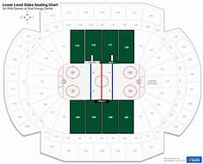 Xcel Energy Center Interactive Seating Chart Lower Level Center Xcel Energy Center Hockey Seating