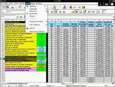 Excel Retirement Calculator 5 Excel Retirement Planner Format Sampletemplatess