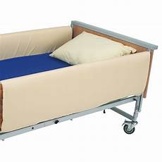 bed rail entrapment avoidance conventional cotside bumpers