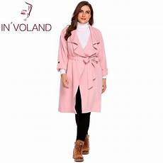 plus size trench coats for 3x aliexpress buy in voland s trench coat plus