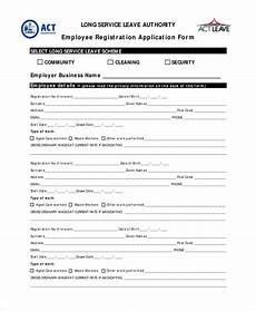 Employee Application Form Pdf Free 10 Sample Employee Application Forms In Pdf Word
