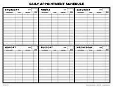 Schedule Book Template Free Salon Appointment Book Template Worldwide Salon