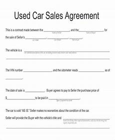 Car Payment Contract Free 11 Sample Car Sales Contracts In Ms Word Pdf Pages