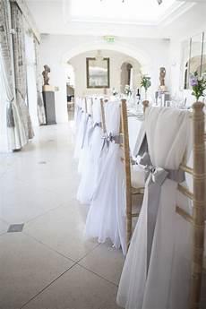 wedding chair sashes bristol modern yet classic grey white chic elegant wedding