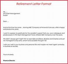 Retirement Letters Examples 12 Free Retirement Letter Templates Amp Samples How To Write