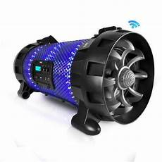 Boombox Led Lights Bluetooth Nfc Boombox Stereo Speaker System With Multi