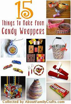 How To Make Candy Wrappers 15 Candy Wrapper Crafts About Family Crafts