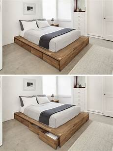 9 ideas for the bed storage