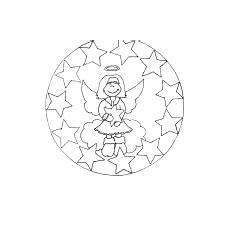 Mandala Engel Malvorlagen Mandala