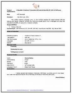 Medical Coding Resume Format Fresher Resume Sample Page 2 Resume Resume Format