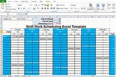 Schedule Generator Work Employee Shift Schedule Generator Excel Template Excel Tmp