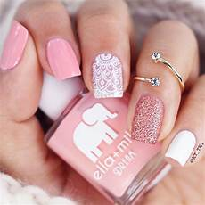 Black White And Pink Nail Designs 27 Pink Nails Ideas Everyone Should Own