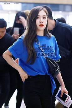 blackpink airport fashion official korean fashion