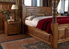 Bed With Posts Large Four Poster Bed Ambassador