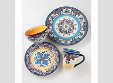 EuroCeramica Zanzibar 16 Piece Dinnerware Set & Reviews