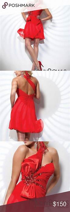 Tony Bowls Dress Size Chart Alluring A Line Cocktail Dress By Tony Bowls Nwt With