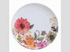 Better Homes & Gardens 4 Pack Floral Melamine Dinner Plate