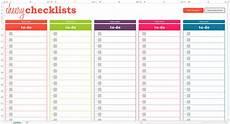 Checklist Excel 13 Checklist Templates Word Excel Pdf Formats