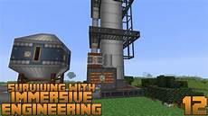 Distillation Tower Surviving With Immersive Engineering 1 12 E12