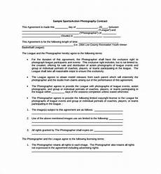Proposal And Contract Template Sample Photography Proposal Template 9 Free Documents