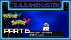 Spewpa Evolution Chart Pokemon X And Y Part 6 Scatterbug Evolves Into Spewpa
