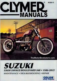 Suzuki Savage Repair Manual By Clymer 1986 2015 Ls650