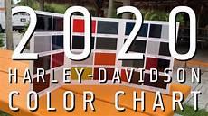 Harley Davidson Models Chart 2020 Harley Davidson Model Color Chart Youtube