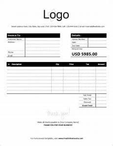 Net 30 Invoice Template Business Invoice Template With Net 30 Days Payment Terms