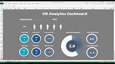 Human Resource Dashboard Excel Human Resources Dashboard Free Excel Dashboards