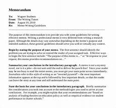 Example Business Memos 25 Business Memo Templates Pdf Google Docs Free