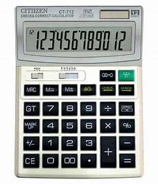 Buy Calculator Cltiizen Electronic Calculator Ct 712 12 Digit Check