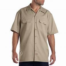 dickies sleeve shirt dickies sleeve work shirt 1574kh xl the home depot