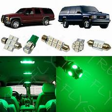 1995 Gmc Lights 16x Green Led Lights Interior Package Kit For 1995 1999