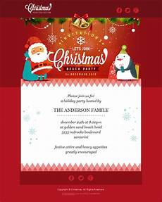 Holiday Party Email Template More Of The Best Christmas Holiday Email Templates