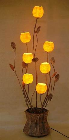 Rice Paper Ball Lights Mulberry Rice Paper Ball Handmade Seven Flower Bud Design