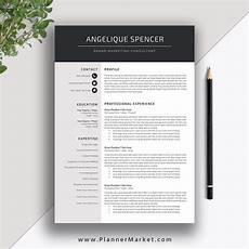 Modern Picture Resume Modern Resume Template World Of Reference