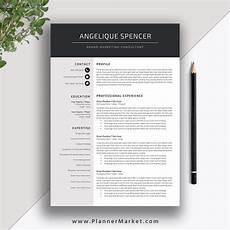 Modern Professional Resume Template Professional Resume Template 2020 3 Page Cv Template