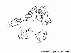 Malvorlagen Pferde Kinder Ausmalbild Pferd