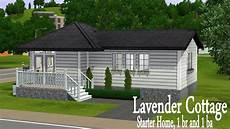the sims 3 house building lavender cottage starter home