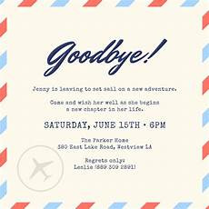Farewell Invitation Email Customize 2 402 Farewell Party Invitation Templates
