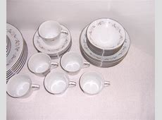 Noritake Lillian China Service for Six   Triple A Resale