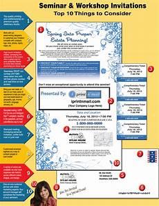 Seminar Invitation Format Seminar And Workshop Invitations Top 10 Things To