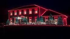 Red And White Large Christmas Lights Christmas Lights In Louisville Taylor Homes