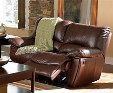 3 pc coaster clifford top grain leather reclining sofa set
