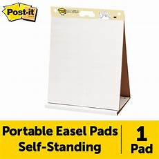 Sticky Flip Chart Pad Post It Super Sticky Tabletop Easel Pad 20 X 23 Inches
