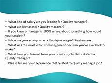 Quality Assurance Interview Questions And Answers Interview Questions And Answers For Quality Assurance Managers