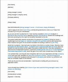 Structure Of A Good Cover Letters Cover Letter Structure Sample 7 Examples In Word Pdf