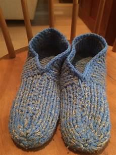beginner s knitting slipper pattern identification