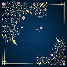 Invite Background Annual Wedding Invitations Blue Pattern Background